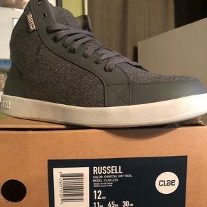 Clae Russell sz 12 Grey never worn